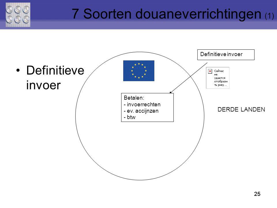 7 Soorten douaneverrichtingen (1)