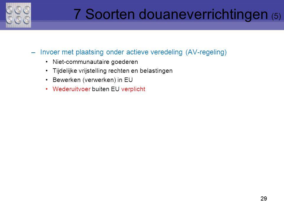 7 Soorten douaneverrichtingen (5)