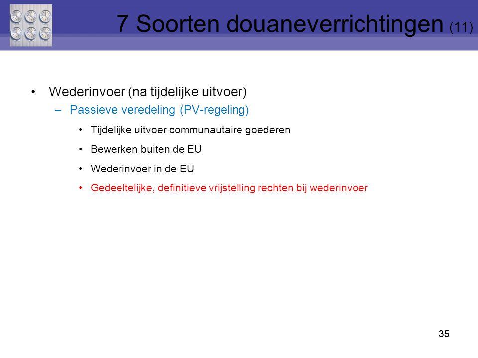 7 Soorten douaneverrichtingen (11)