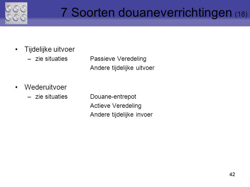 7 Soorten douaneverrichtingen (18)
