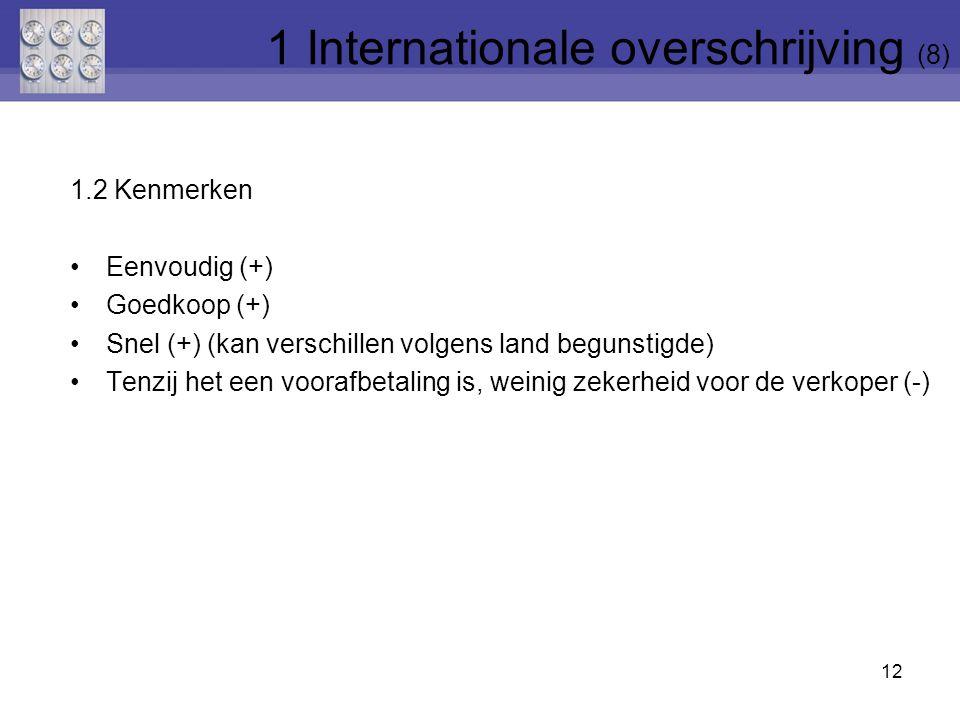1 Internationale overschrijving (8)