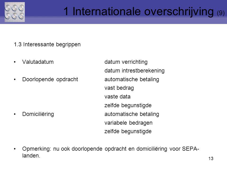 1 Internationale overschrijving (9)