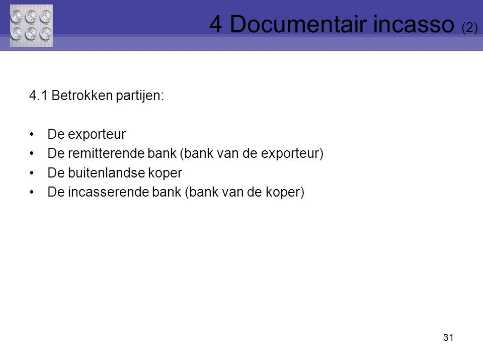 4 Documentair incasso (2)