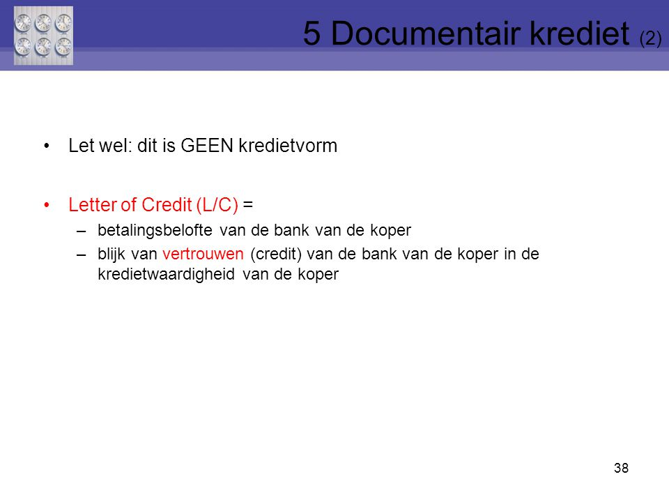 5 Documentair krediet (2)