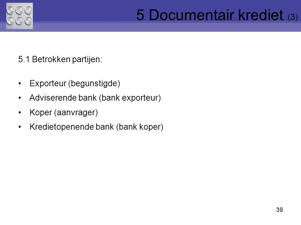 5 Documentair krediet (3)