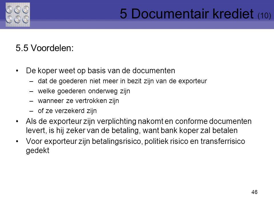 5 Documentair krediet (10)