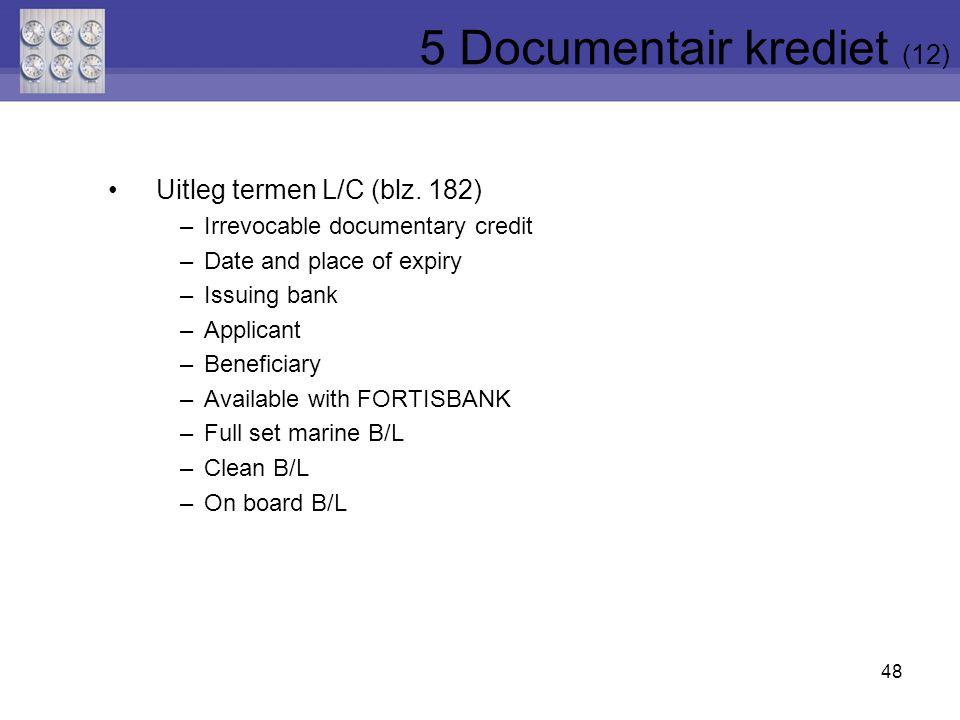 5 Documentair krediet (12)