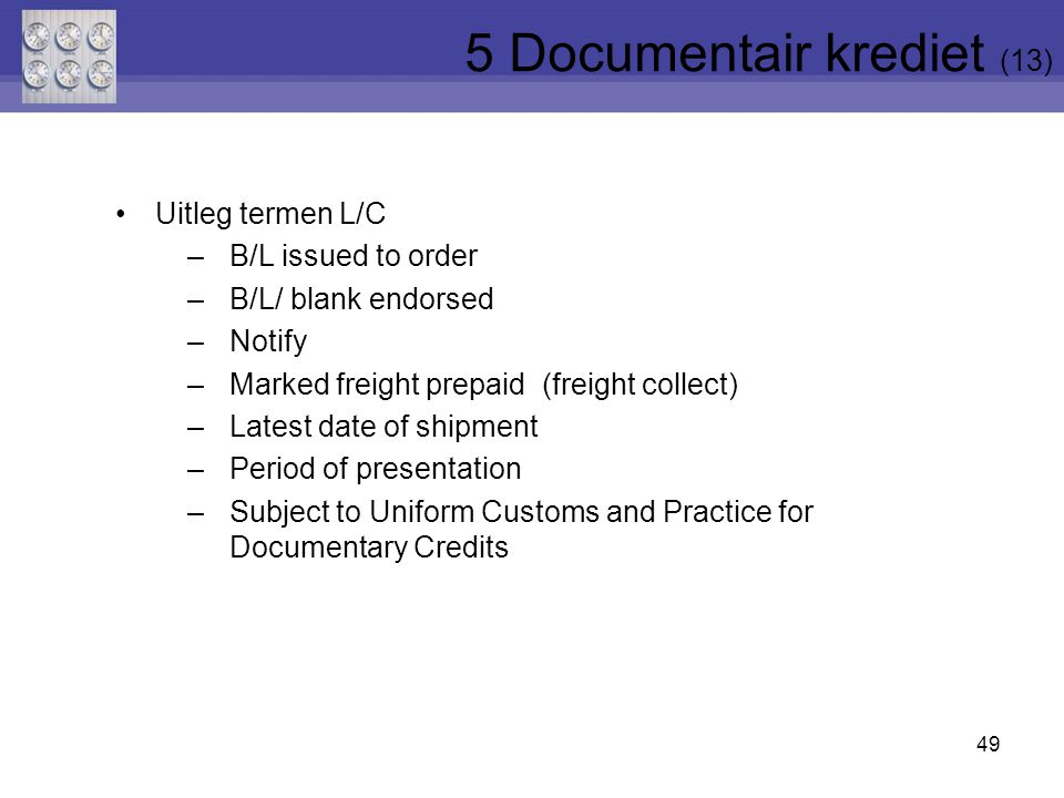 5 Documentair krediet (13)