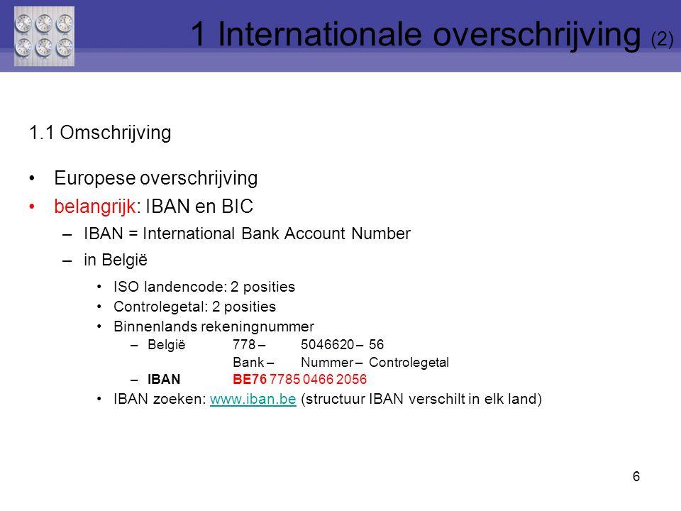 1 Internationale overschrijving (2)