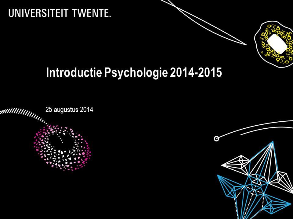 Introductie Psychologie 2014-2015