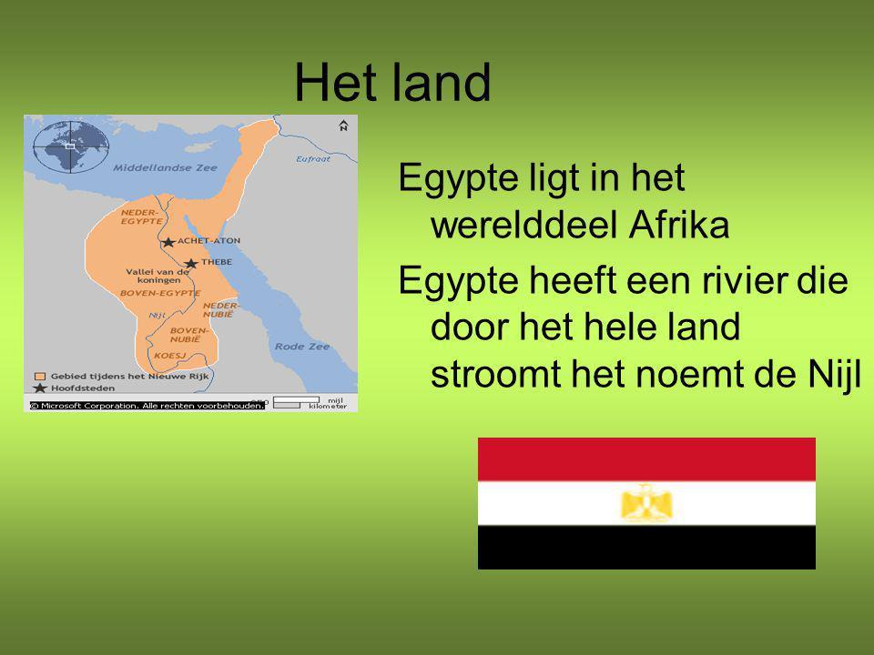 Het land Egypte ligt in het werelddeel Afrika