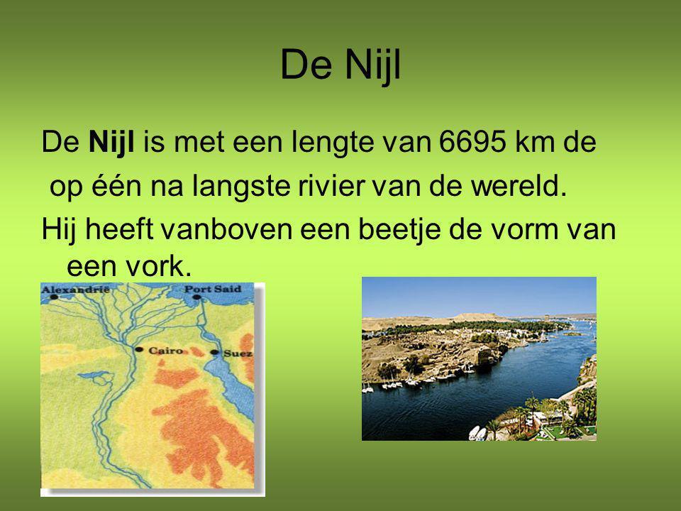 De Nijl De Nijl is met een lengte van 6695 km de