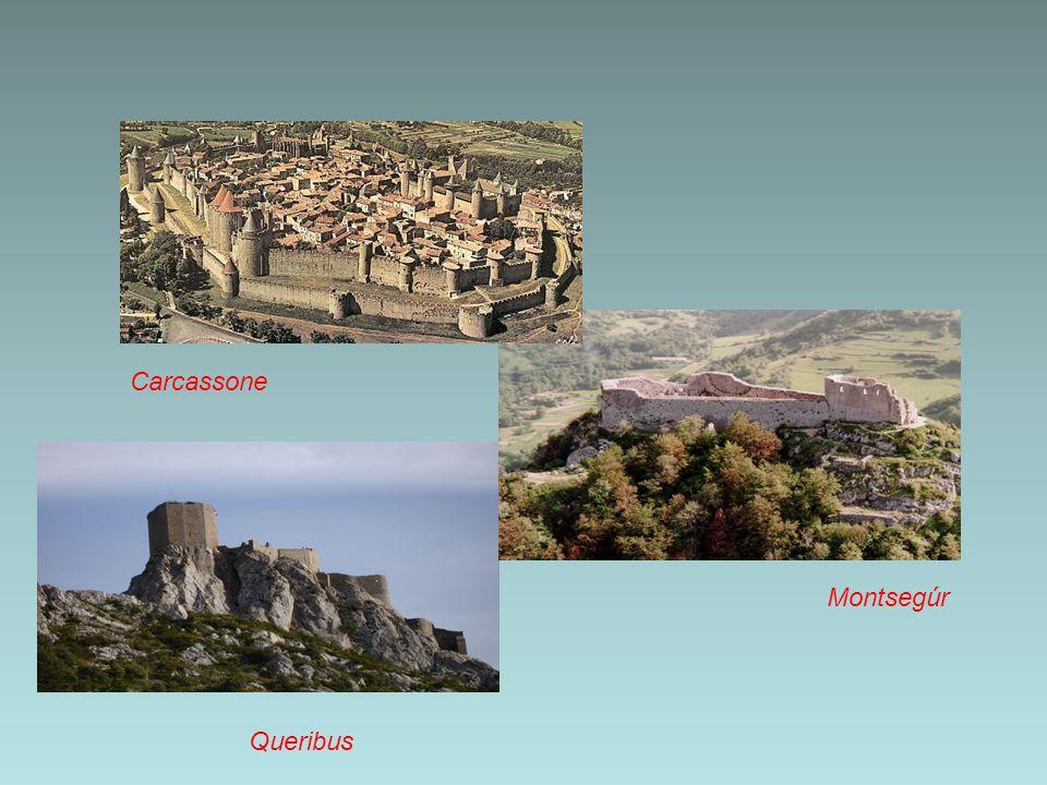 Carcassone Montsegúr Queribus