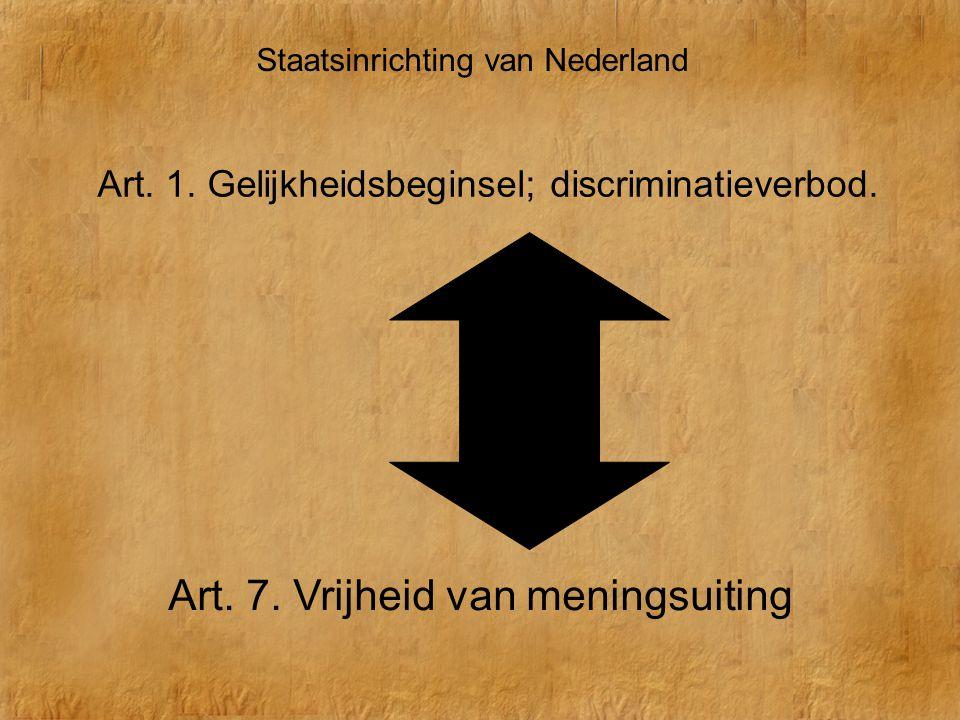 Art. 7. Vrijheid van meningsuiting