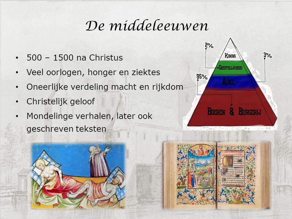 De middeleeuwen 500 – 1500 na Christus
