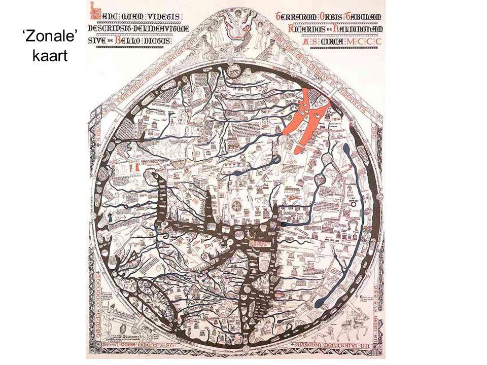 'Zonale' kaart
