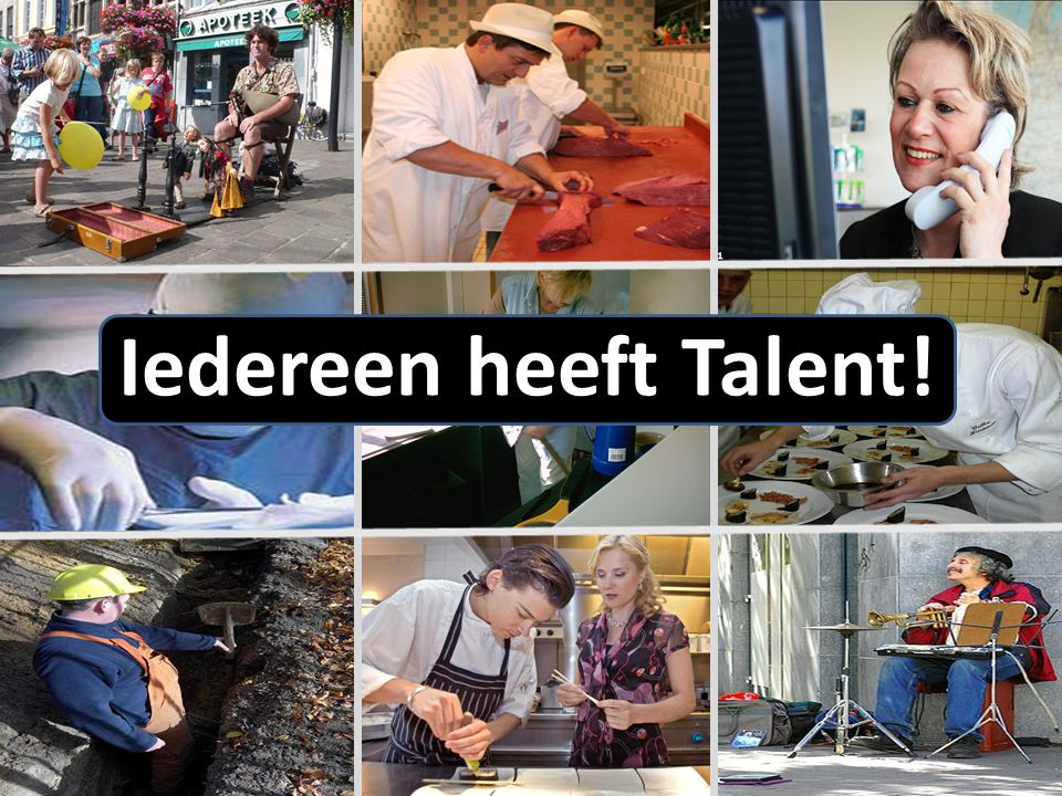 Iedereen heeft Talent!