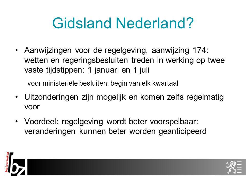 Gidsland Nederland
