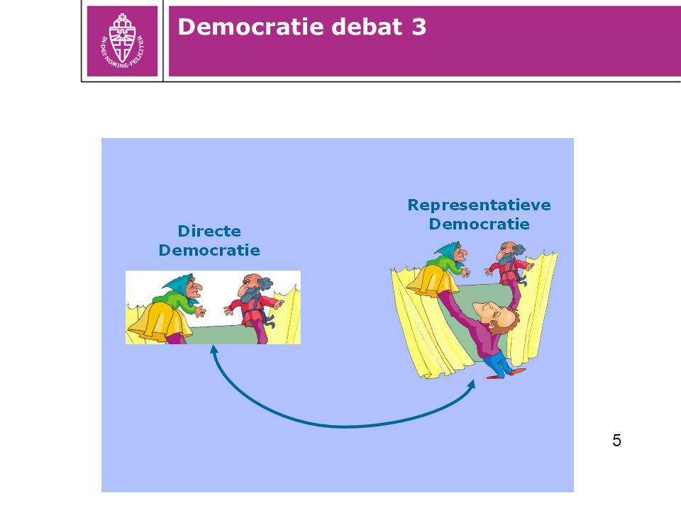 Democratie debat 3