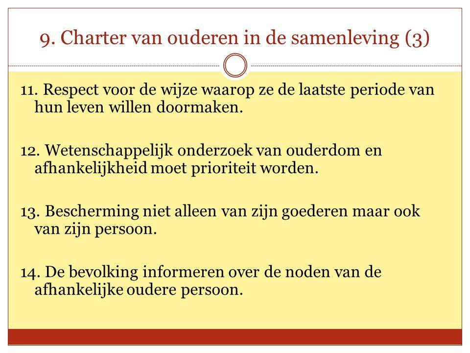 9. Charter van ouderen in de samenleving (3)