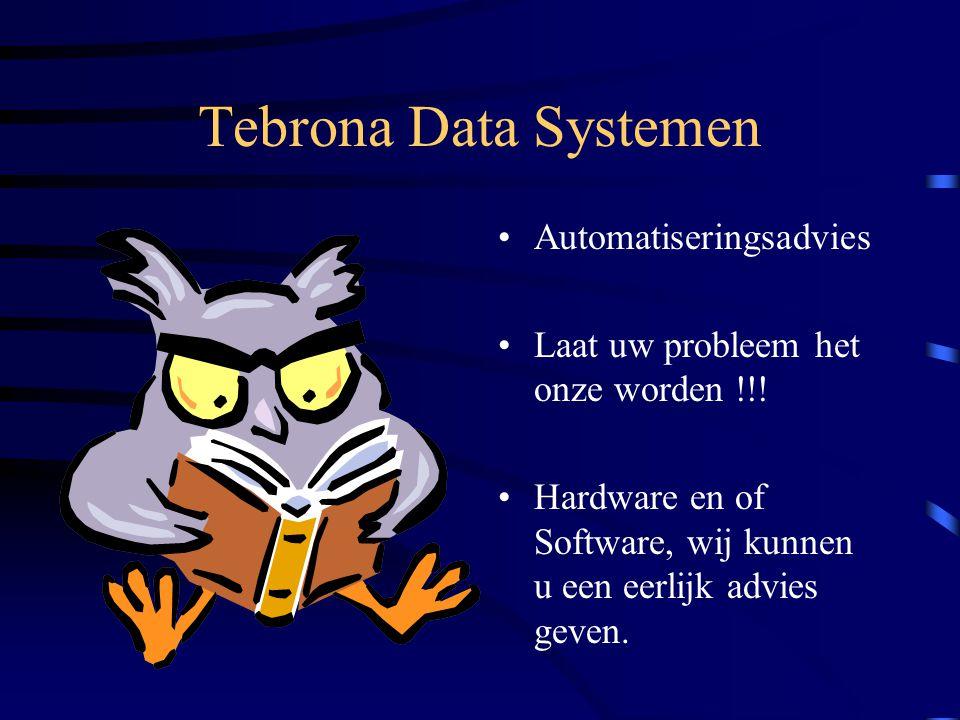 Tebrona Data Systemen Automatiseringsadvies