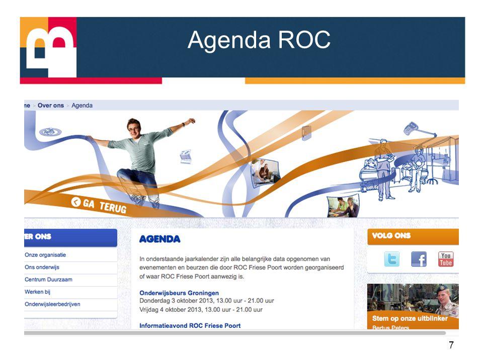 Agenda ROC