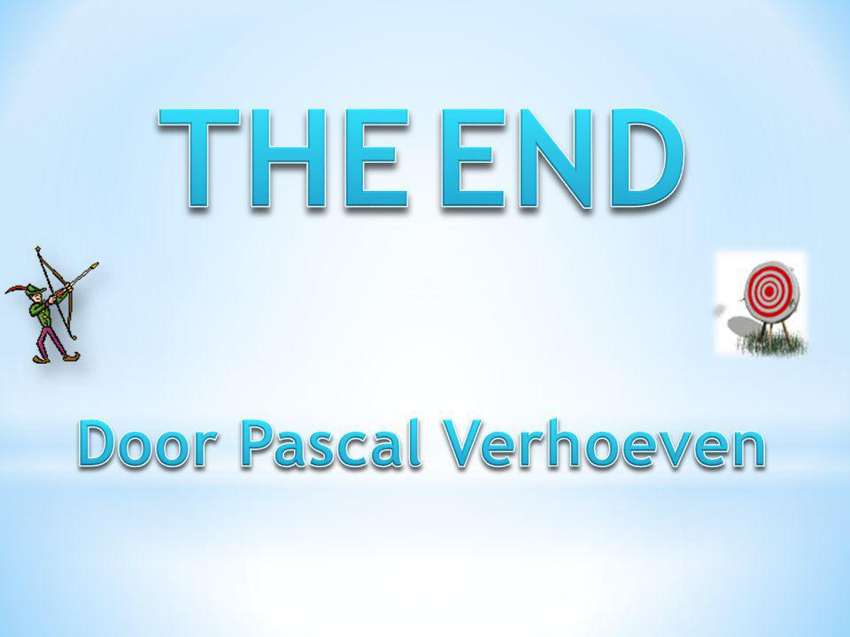 THE END Door Pascal Verhoeven