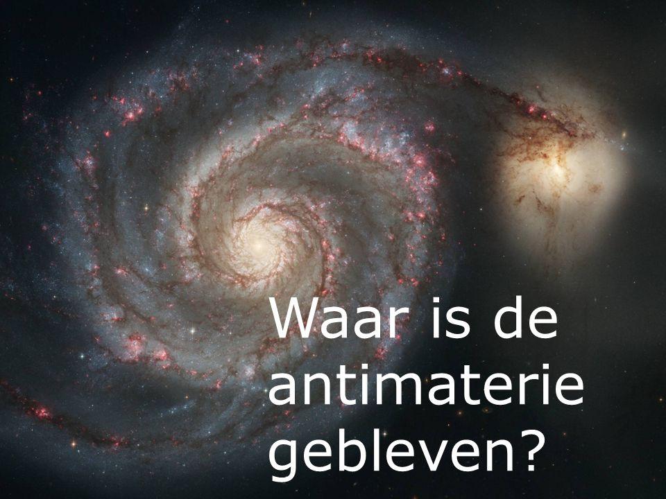 Waar is de antimaterie gebleven
