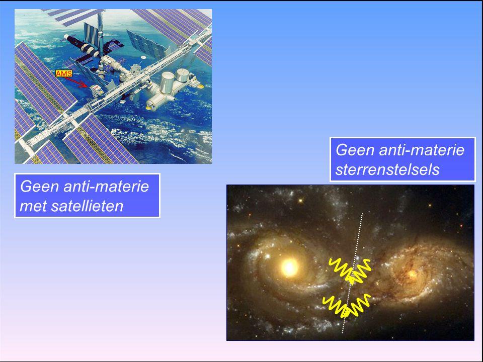 Geen anti-materie sterrenstelsels