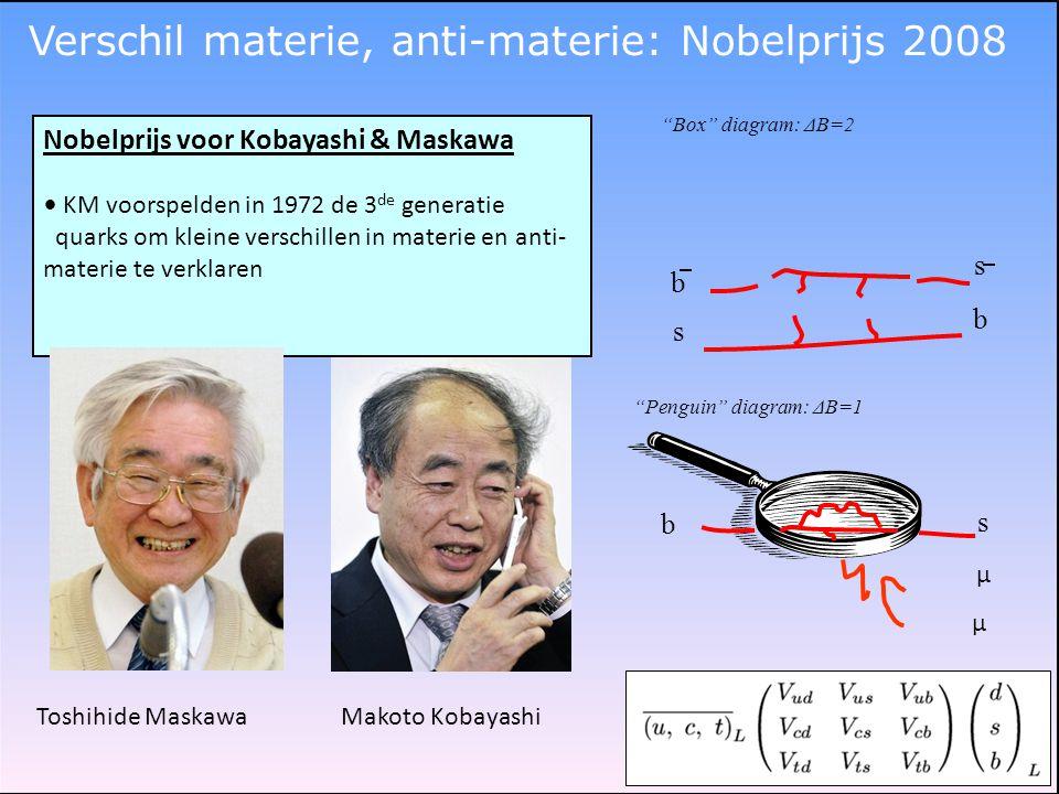 Verschil materie, anti-materie: Nobelprijs 2008