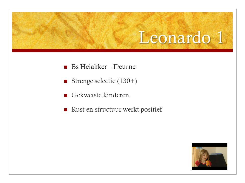 Leonardo 1 Bs Heiakker – Deurne Strenge selectie (130+)