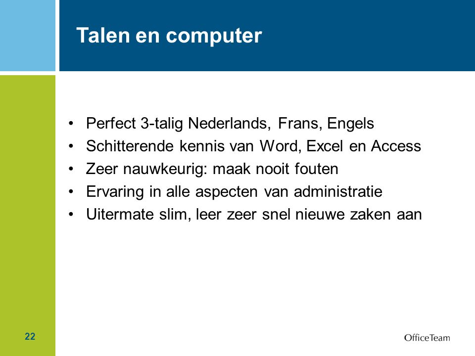 Talen en computer Perfect 3-talig Nederlands, Frans, Engels