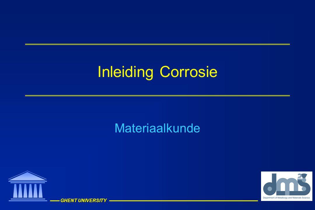 Inleiding Corrosie Materiaalkunde
