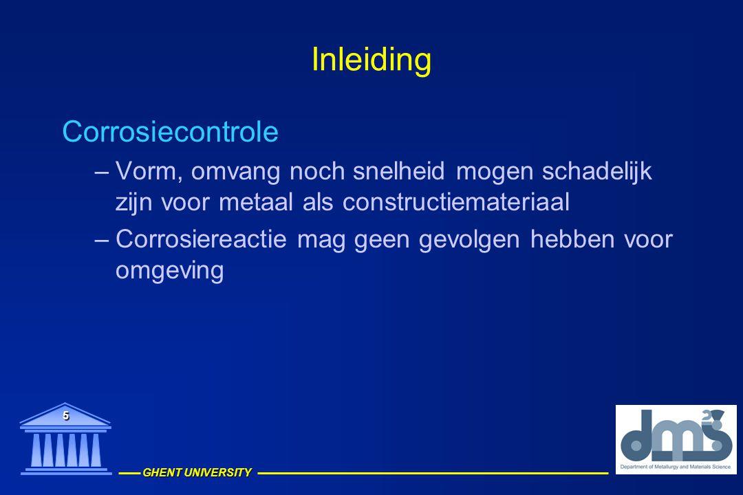 Inleiding Corrosiecontrole