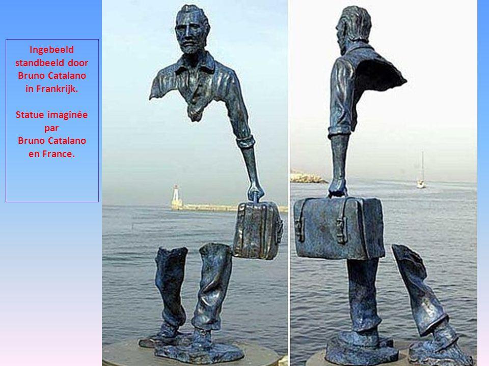 Ingebeeld standbeeld door Bruno Catalano