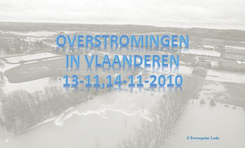 Overstromingen In Vlaanderen 13-11,14-11-2010