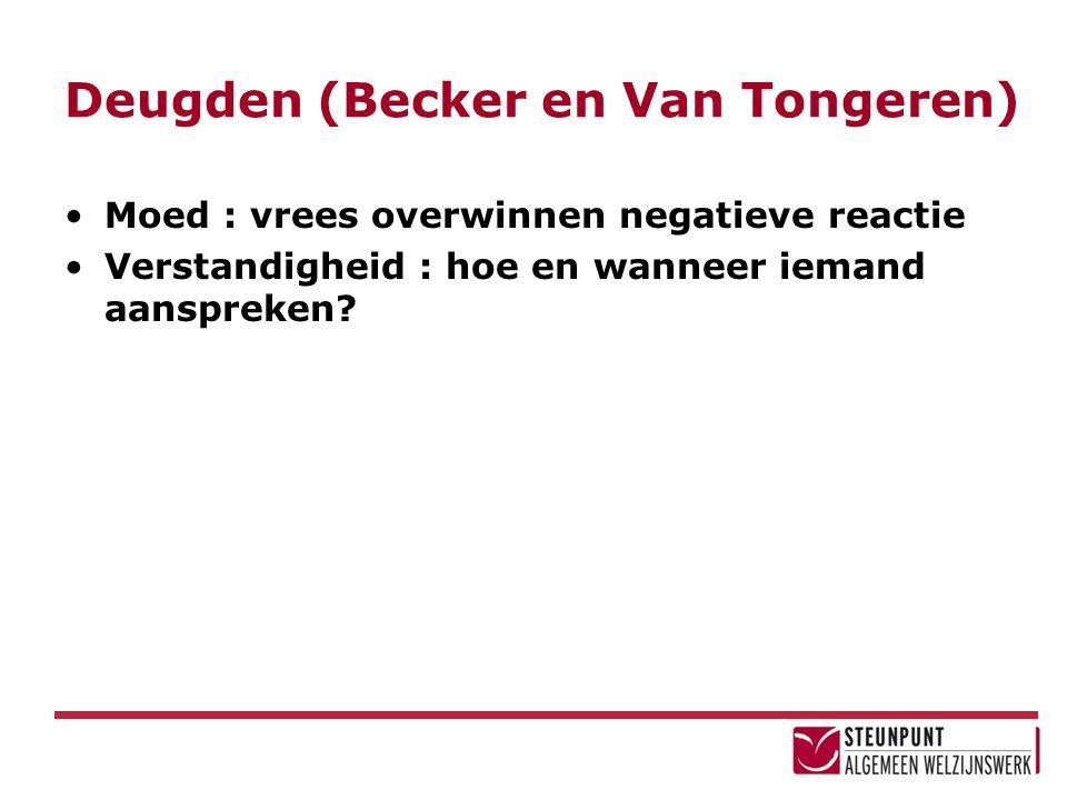 Deugden (Becker en Van Tongeren)