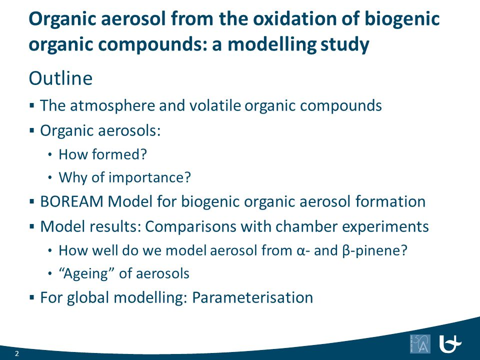 Organic aerosol from the oxidation of biogenic organic compounds: a modelling study