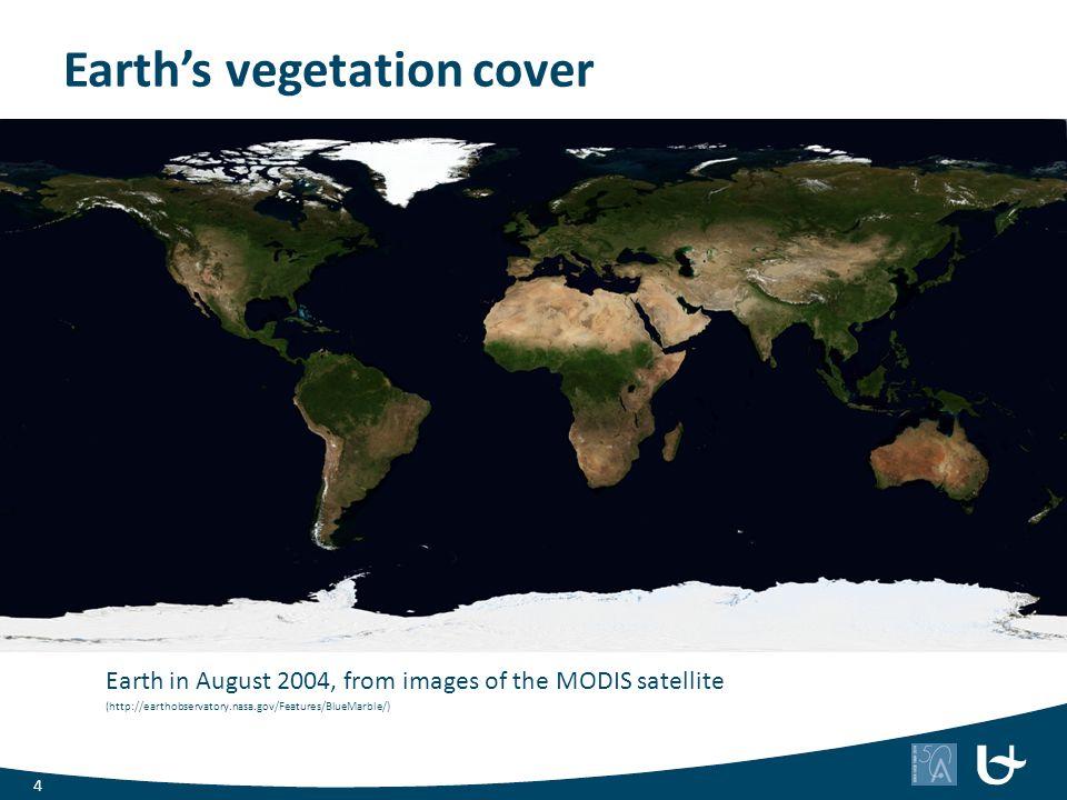 Earth's vegetation cover