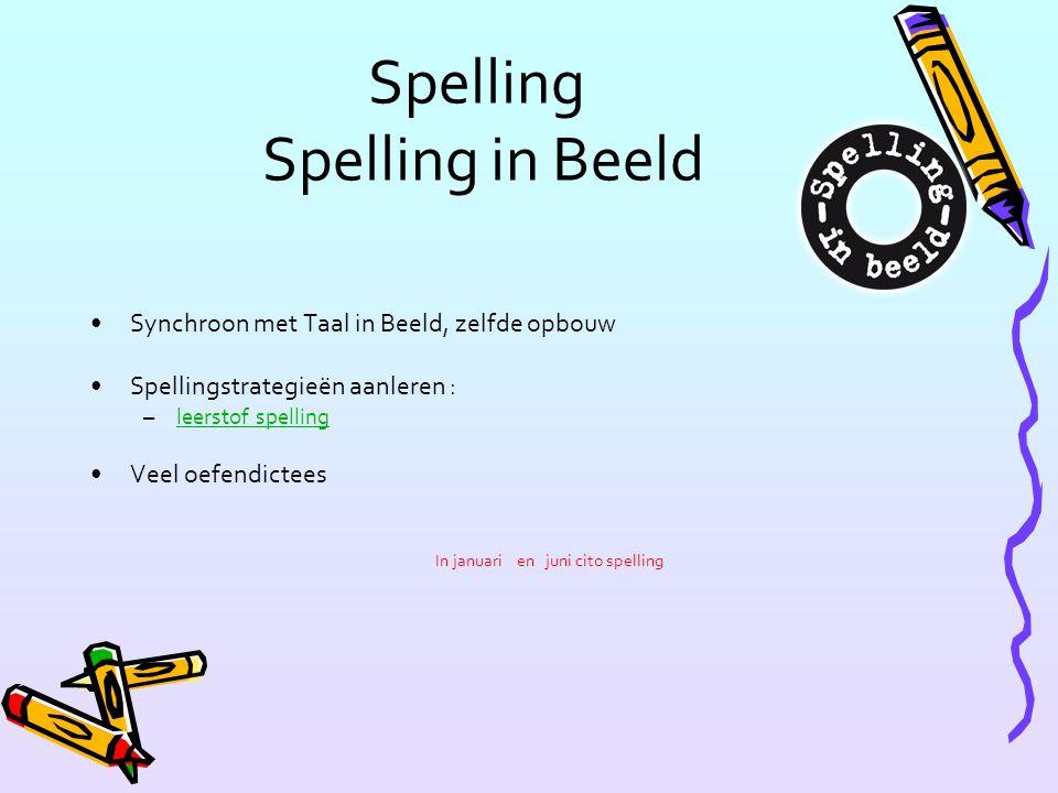 Spelling Spelling in Beeld