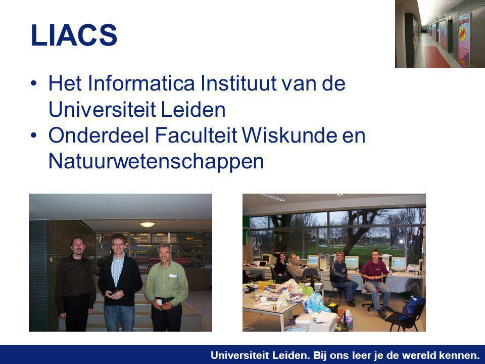 LIACS Het Informatica Instituut van de Universiteit Leiden