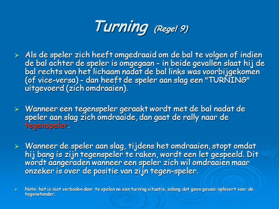 Turning (Regel 9)