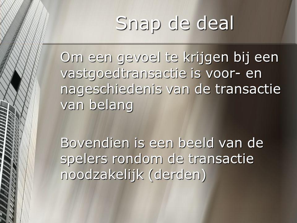Snap de deal