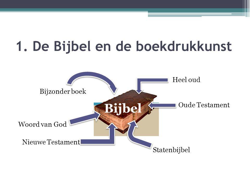 1. De Bijbel en de boekdrukkunst