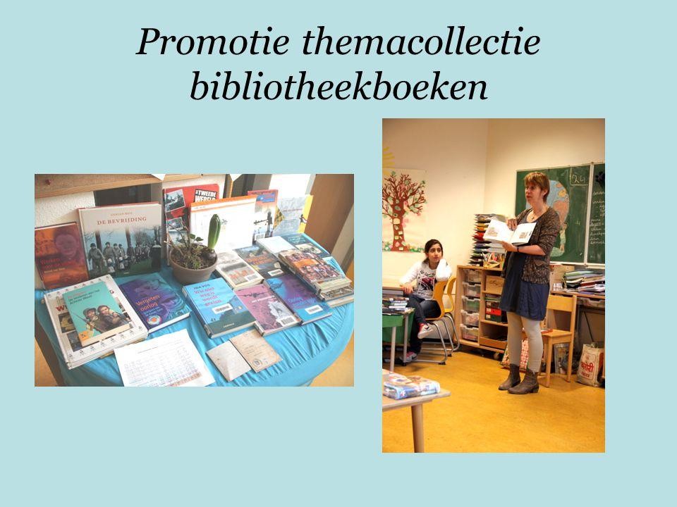 Promotie themacollectie bibliotheekboeken