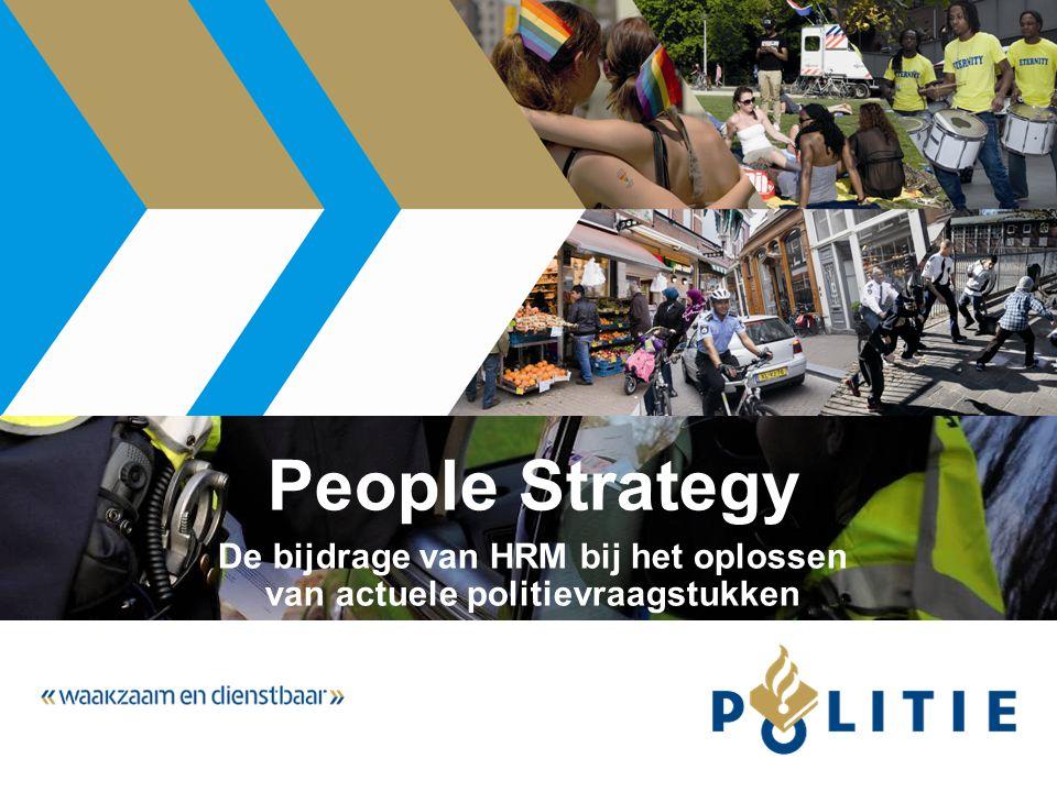 De bijdrage van HRM bij het oplossen van actuele politievraagstukken