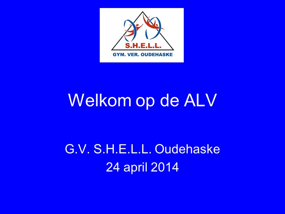 G.V. S.H.E.L.L. Oudehaske 24 april 2014
