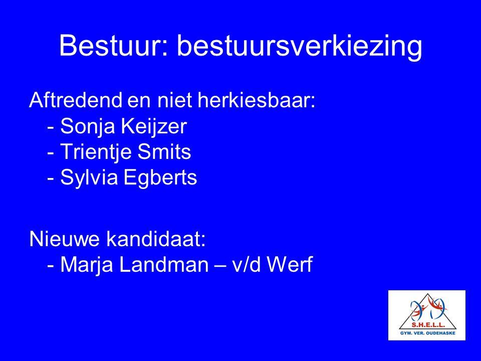 Bestuur: bestuursverkiezing