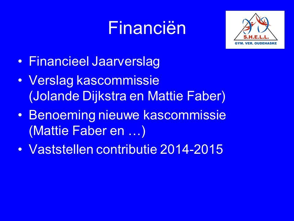 Financiën Financieel Jaarverslag