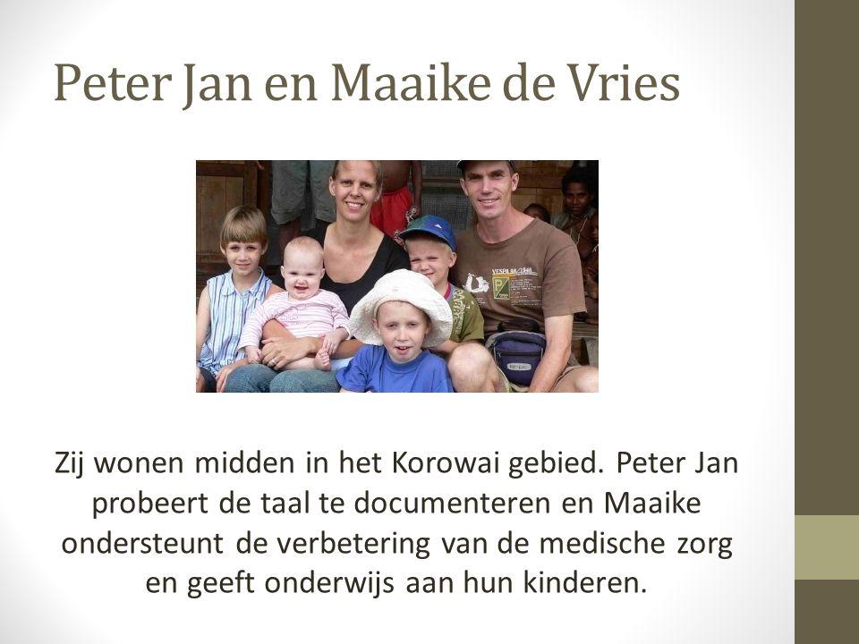 Peter Jan en Maaike de Vries